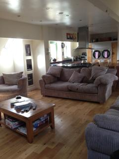 Large Seating area for all guests upstairs and downstairs
