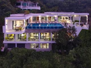 Luxury 9 bed Villa Sea views Sleeps 20,chef,cinema, Choeng Thale