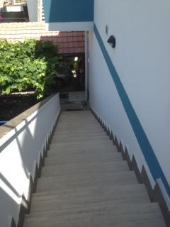 Scalinata d'ingresso (Entrance staircase)