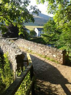 Innerleithen's Cuddy Bridge