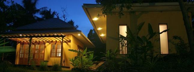 Twin Villa at night