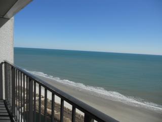 Direct ocean-front balcony