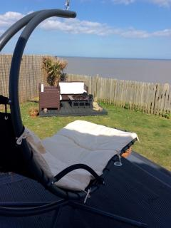 Garden Helicopter Chair for ultimate relaxation 124