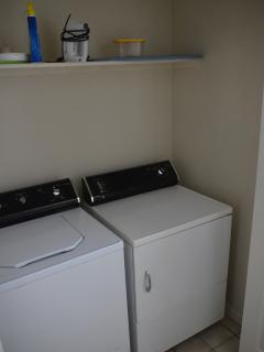 Private Full Size Washer & Dryer