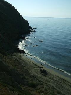 Playa bajo comunidad hacia Levante