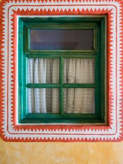 Hand-painted Window Borders