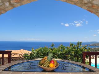 Strofilia, 3prs holiday villa with shared pool, Zaquintos