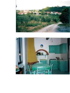 casa in collina zona chianti