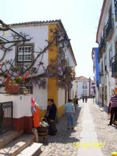 The streets of Obidos