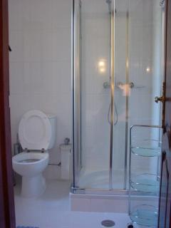 Typical ensuite shower