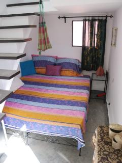 Our second bedroom with two 80x200 beds