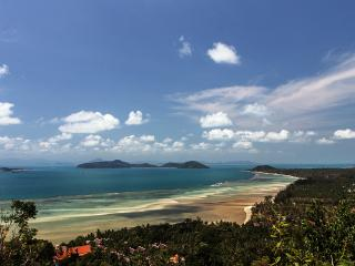 Amazing panoramic ocean-views over the South of Samui Island