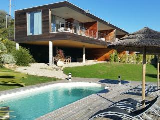 Appartement moderne avec piscine et vue mer, Porticcio