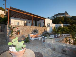 traditional villa chora patmos, Greece