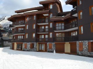 Studio Montagne Valmorel Savoie Skis aux pieds