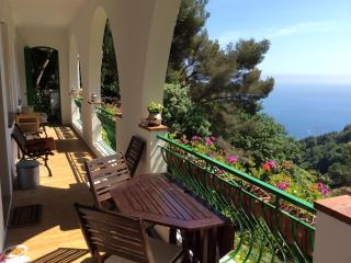 camera matrimoniale, bagno indipendente, vista mar, Roquebrune-Cap-Martin