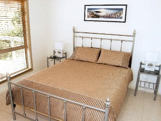The bedrooms are light and bright, doubles have queen beds.