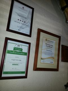 Multi award winning resort
