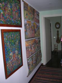 corridor for the bedroom
