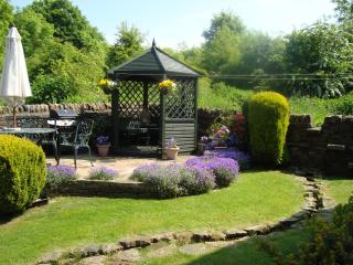 Guest's Patio, BBQ area and Summerhouse