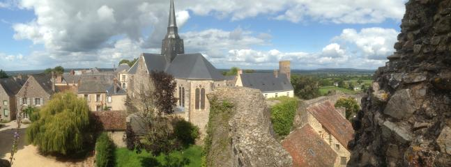 The fortified village of Ste Suzanne (5 min drive from house)