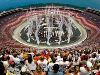 Bristol Motor Speedway - 27 miles - approx 45 mins - Route of least traffic