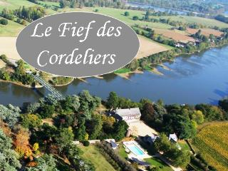 Le Fief des Cordeliers - Gite and Bed-and-Breakfast in Loire Valley, Montjean-sur-Loire