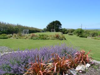 Our stunning garden - perfect for football matches, butterfly chasing, rabbit watching...