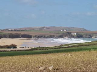 Beautiful Harlyn Bay...our beach :)