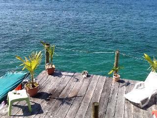 Segundo piso con vista perfecta, Carenero Island