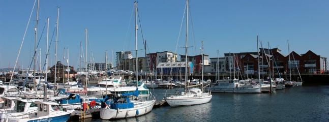 Swansea Marina only 30 minutes from Vijaygardens