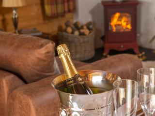 Why not have a romantic night in beside the wood burning stove