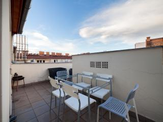 Penthouse with roof terrace in the center