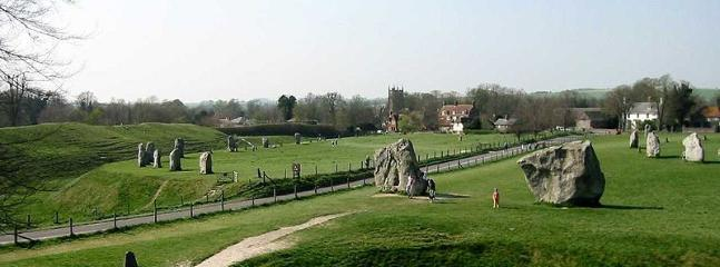 Avebury - a word heritage site - 20 mins drive