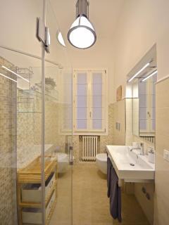 larger bathroom