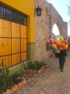 The magic of San Miguel, a UNESCO World Heritage Site, is just outside Nido de Pájaros's front door.