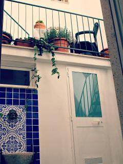 giardinetto su tre livelli...
