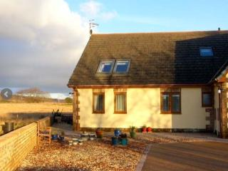 The annexe with own garden with a view