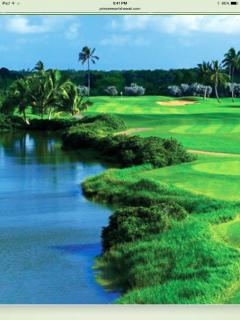 Hit the fairways and golf at one of the many beautiful golf courses on the island