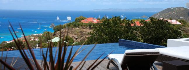 Villa Vague Bleue SPECIAL OFFER: St. Barths Villa 191 Facing The Ocean And The Sunset: Addicts Of Sun Will Be Fully Satisfied., Lurin