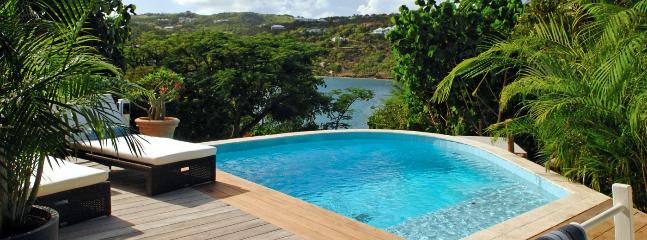 Villa Captiva SPECIAL OFFER: St. Barths Villa 204 Has An Outstanding View On The Ocean And Marigot Bay.