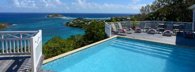 SPECIAL OFFER: St. Barths Villa 215 This Spacious Villa Is Overlooking The Marigot Bay.