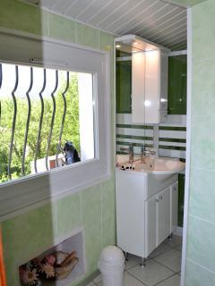 Salle de bains chambre Picasso