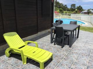 Bungalow sofaïa vue mer,piscine, Sainte Rose