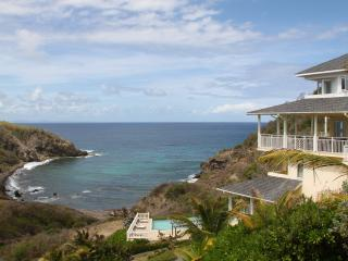 Hawks Cry overlooking Swimming Pool and Anse Galet Cove