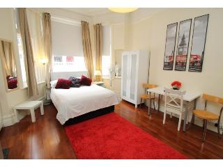 Charming Studio Apartment, Barons Court, Londres