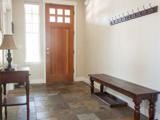 Slate entryway is a great place to take off your shoes and relax after a day in the outdoors
