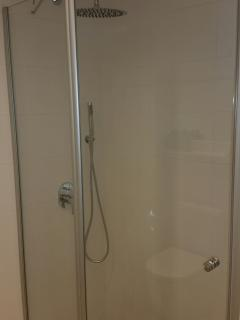 Brand new shower room at Son Bou 66.