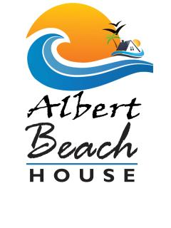Albert beach house official logo