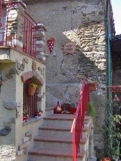 Entrance stair to your  holiday home.